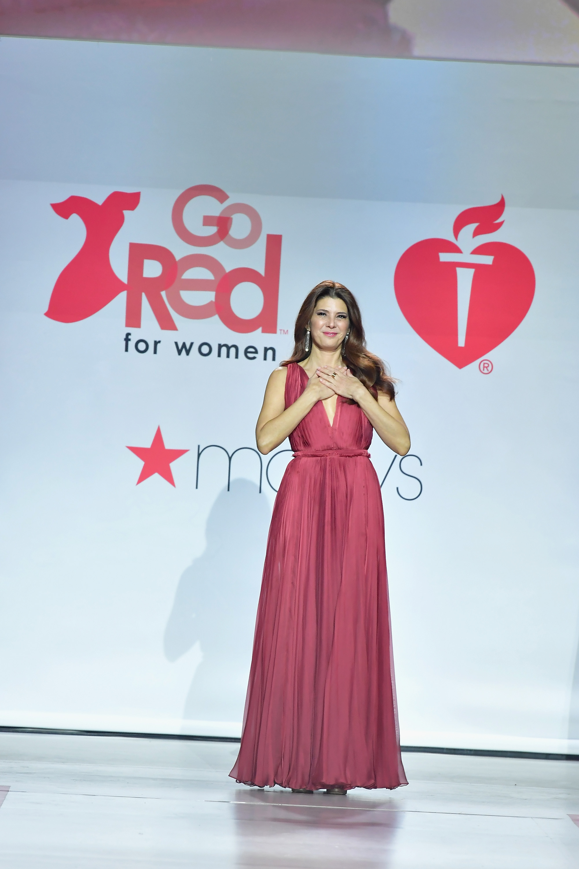 d58062c8fa9 Celebrities gather in NYC to support American Heart Association s Go ...